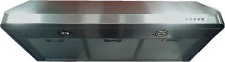 """Verona® 36"""" Under Cabinet Range Hood- Stainless Steel-VEHOOD3610"""