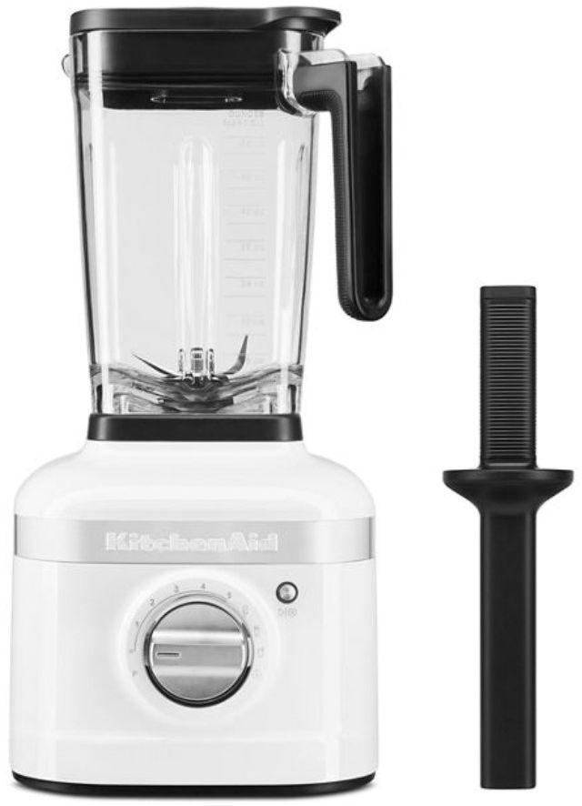KitchenAid® K400 White Counter Blender with Tamper-KSB4028WH