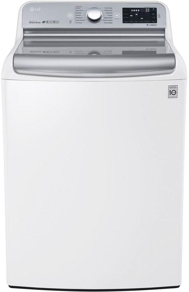 LG Top Load Washer-White-WT7700HWA