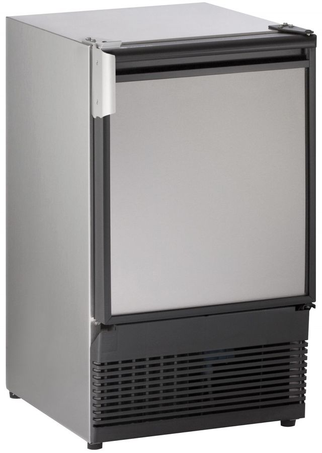 """U-Line® Marine Series 14.94"""" Stainless Steel Ice Maker-SS98NF-20A"""