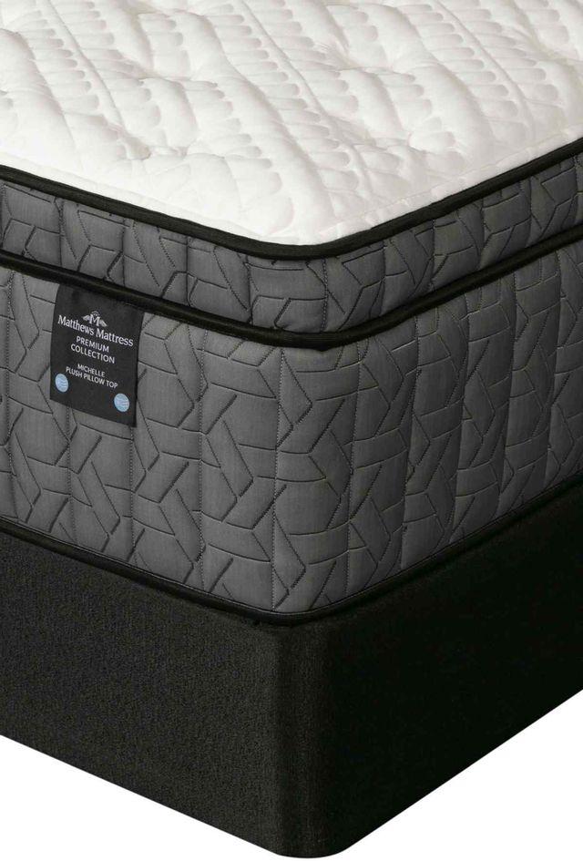 Matthews Mattress Premium Collection Michelle Pocketed Coil Plush Pillow Top California King Mattress-4000273-CK