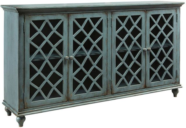 Ashley® Mirimyn Antique Teal Accent Cabinet-T505-762