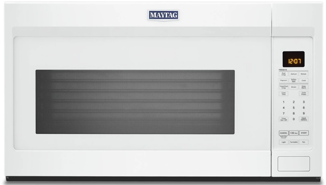 Maytag® 1.9 Cu. Ft. White Over The Range Microwave-YMMV4207JW