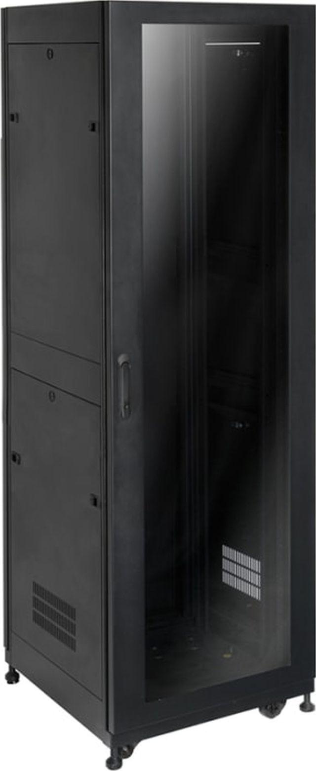 """SnapAV Strong® Signature Series 25"""" 42U Black Premium Enclosure-SR-AV-CAB-42U-25IN"""