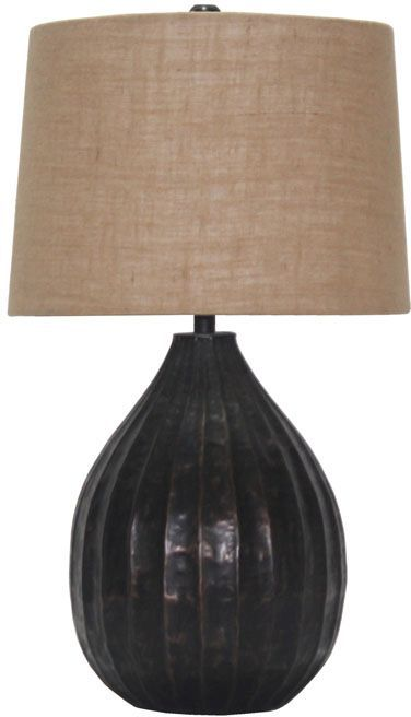 Signature Design by Ashley® Marlos Copper Metal Table Lamp-L207424