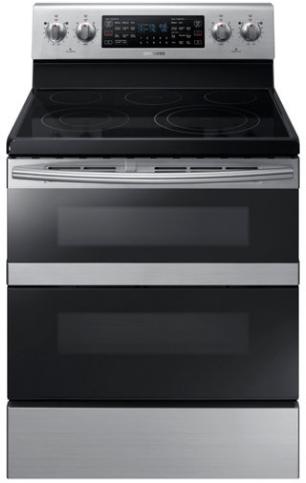 "Samsung 30"" Freestanding Electric Range-Stainless Steel-NE59M6850SS"
