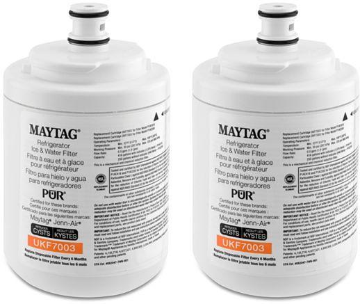 Maytag Refrigerator Water Filter (2 Pack)-UKF7003P