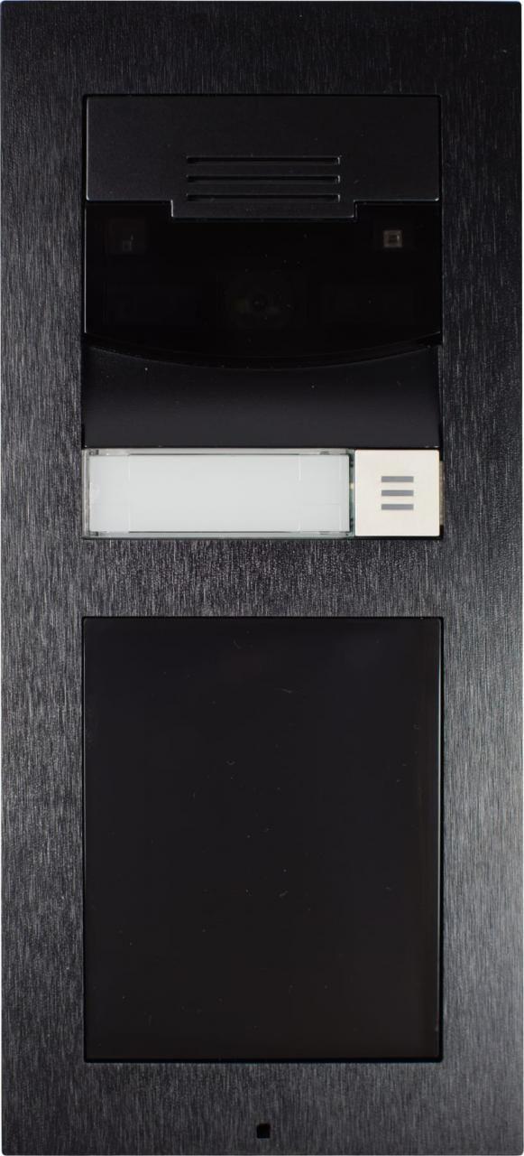 Control4® DS2 Black Surface Mount Door Station-C4-DS2SM-BL