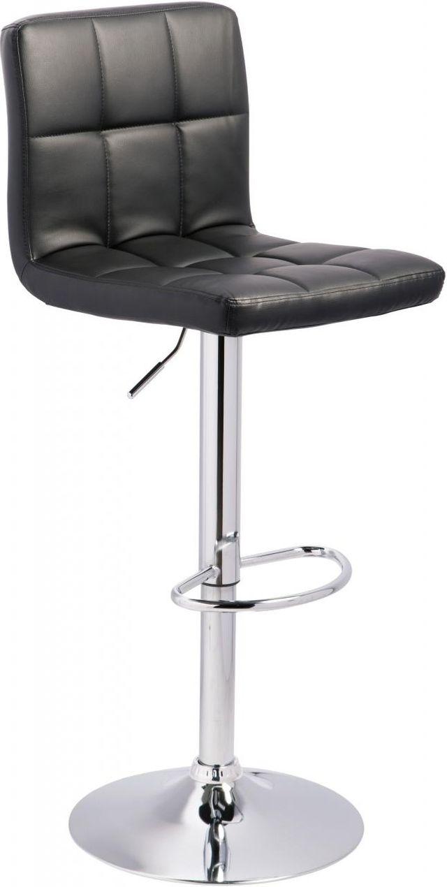 Signature Design by Ashley® Bellatier Black Adjustable Height Bar Stool-D120-130