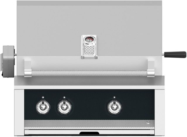"""Aspire By Hestan 30"""" Built-In Grill-Stealth-EABR30-NG-BK"""