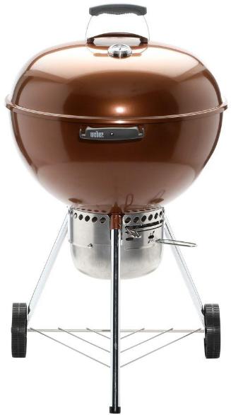 "Weber® Original Kettle™ Series 27"" Copper Premium Charcoal Grill-14402001"