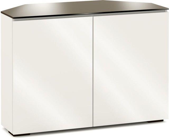 Salamander Designs® Miami 323 CR Corner Cabinet-Gloss Warm White-C/MM323CR/GW