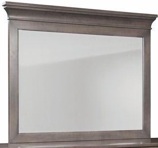 Durham Furniture Prominence Oyster Landscape Mirror-171-182