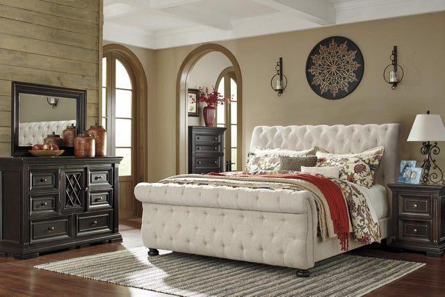 Signature Design by Ashley® Willenburg Linen King/Cal King Upholstered Headboard-B643-78