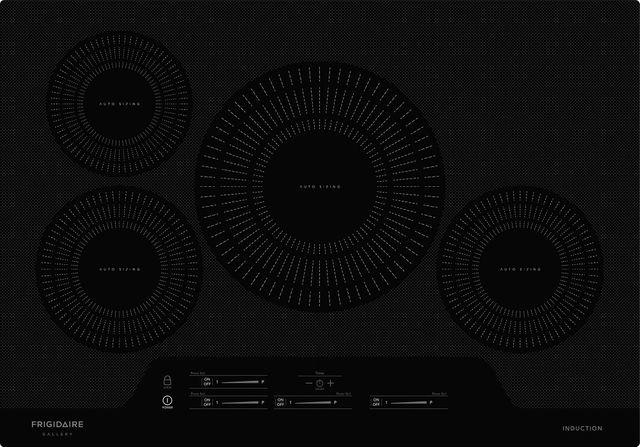 "Frigidaire Gallery® 30"" Black Induction Cooktop-FGIC3066TB"