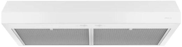 "Broan® Glacier BCSEK1 Series 30"" Under Cabinet Range Hood-White-BCSEK130WW"