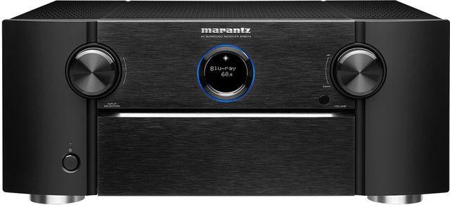 Marantz® Black 11.2ch 8K AV receiver with 3D Audio, HEOS® Built-in and Voice Control-SR8015