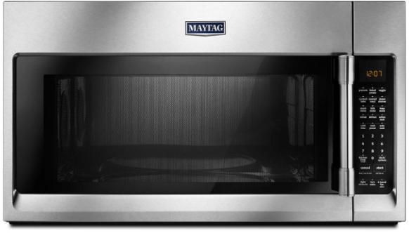 Maytag® 1.9 Cu. Ft. Fingerprint Resistant Stainless Steel Over The Range Microwave-YMMV6190FZ