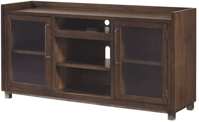 Signature Design by Ashley® Starmore Brown Extra Large TV Stand with Fireplace Option-W633-68