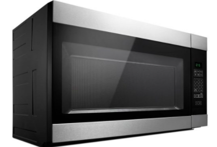 Four à micro-ondes à hotte intégréede 30 po  Amana® de 1,6 pi³ - Acier inoxydable-YAMV2307PFS