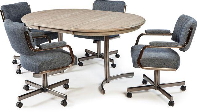 Chromcraft™ Kitchen Décor™ Dining Table-KL424G+KB01BN