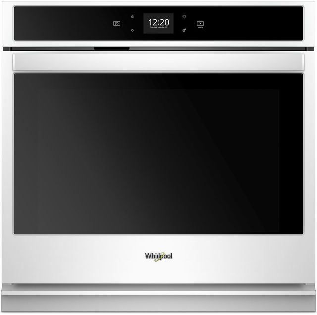 """Whirlpool® 30"""" Electric Single Oven Built In-White-WOS51EC0HW"""
