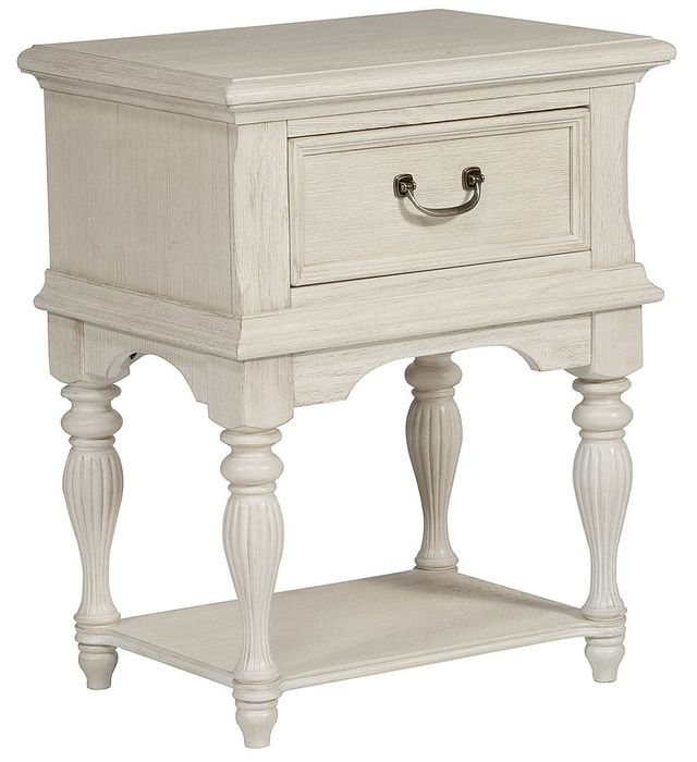 Liberty Furniture Bayside Antique White Nightstand-249-BR62