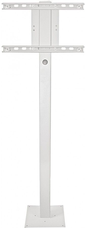 SunBrite TV® White Outdoor Deck Planter Pole-SB-DP46XA-WH