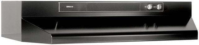 """Broan® 46000 Series 24"""" Black Under Cabinet Range Hood-462423"""