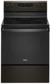 "Whirlpool® 30"" Fingerprint Resistant Black Stainless Steel Free Standing Electric Range-WFE505W0JV"