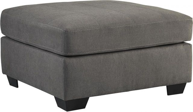 Benchcraft® Maier Charcoal Oversized Accent Ottoman-4520008