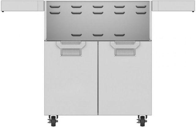 "Aspire By Hestan 30"" Double Door Tower Cart-Stainless Steel-ECD30-SS"
