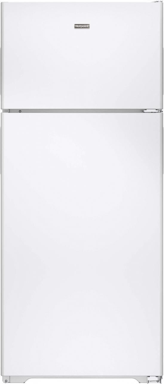 Hotpoint® 17.53 Cu. Ft. White Top Freezer Refrigerator-HPS18BTHWW