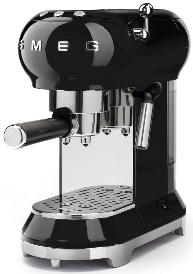 Smeg 50's Retro Style Espresso Coffee Machine-Black-ECF01BLUS