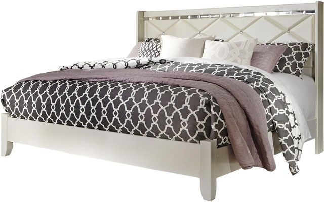 Signature Design by Ashley® Dreamur Champagne King Panel Bed-B351-58