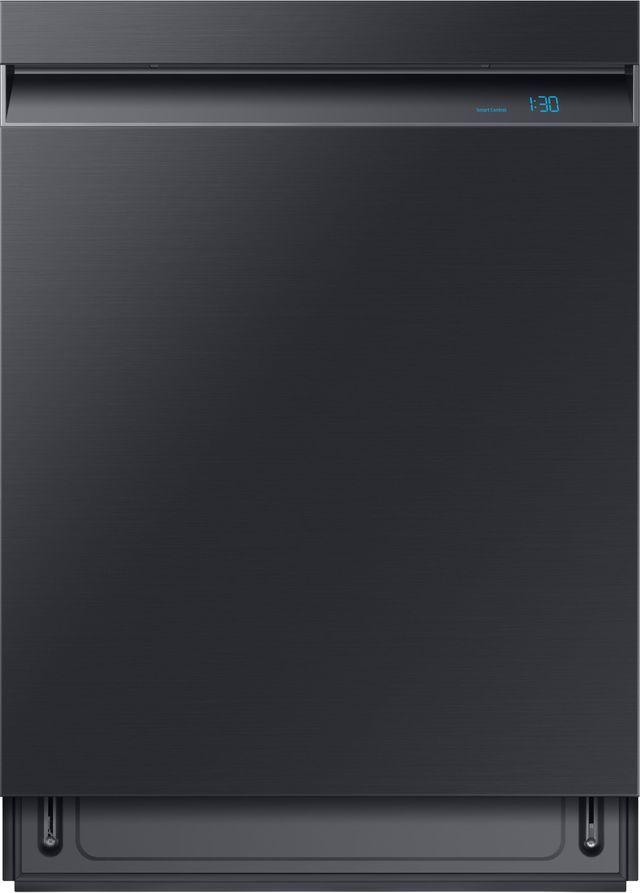 """Samsung 24"""" Fingerprint Resistant Black Stainless Steel Built In Dishwasher-DW80R9950UG"""