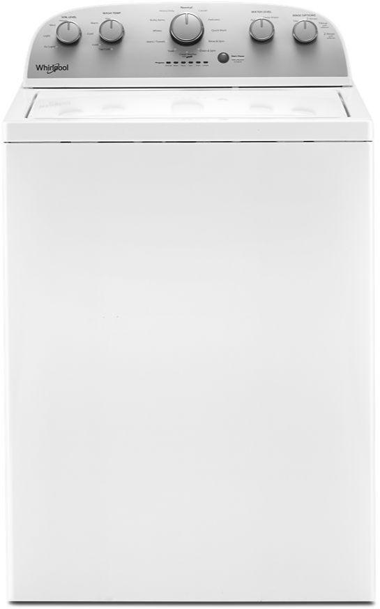 Laveuse à chargement vertical Whirlpool® de 4,2 pi³ - Blanc-WTW5005KW
