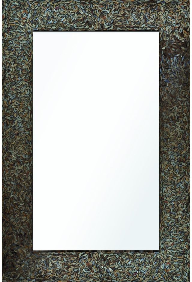 Miroir mural Amber Mosaic Renwil®-MT1345