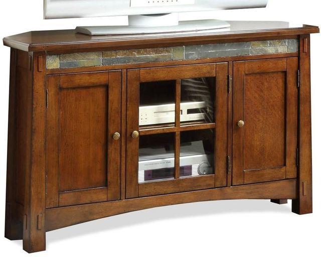 Riverside Furniture Craftsman Home Corner TV Console-2944