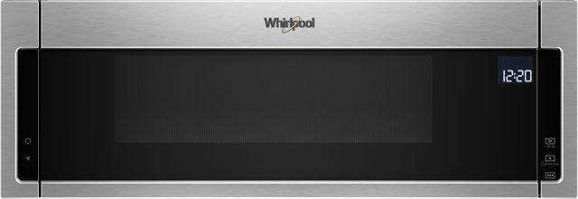 Whirlpool® Over The Range Microwave-Fingerprint Resistant Stainless Steel-WML75011HZ