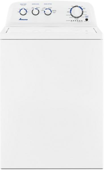 Laveuse à chargement vertical Amana® de 4,4 pi³ - Blanc-NTW4519JW