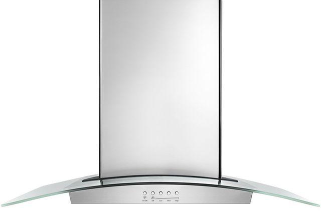 "Whirlpool® 36"" Glass Island Hood-Stainless Steel-WVI75UC6DS"