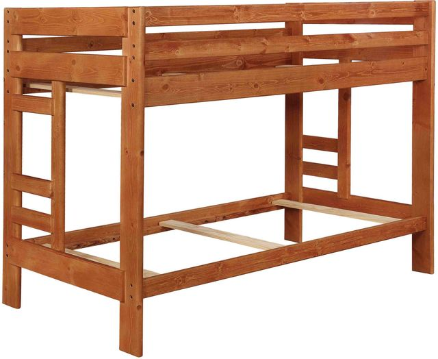 Coaster® Wrangle Hill Amber Wash Twin Over Twin Bunk Bed-460243