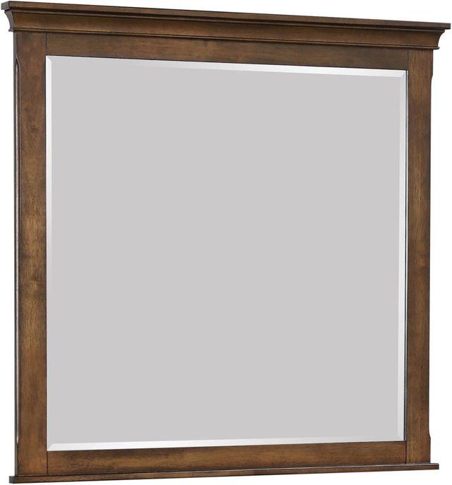 Coaster® Franco Burnished Oak Mirror-200974