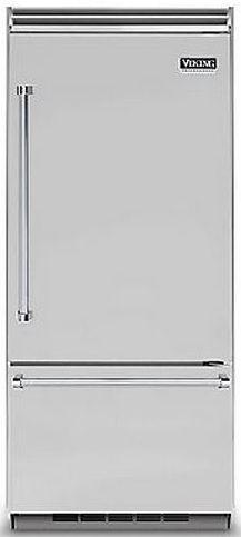 Viking® Professional 5 Series 20.4 Cu. Ft. Built-In Bottom Freezer Refrigerator-Stainless Steel-VCBB5363ERSS