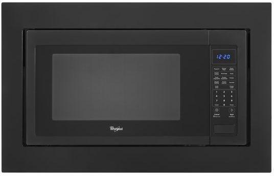 """KitchenAid 30"""" Microwave Trim Kit-Black-MK2220AB"""
