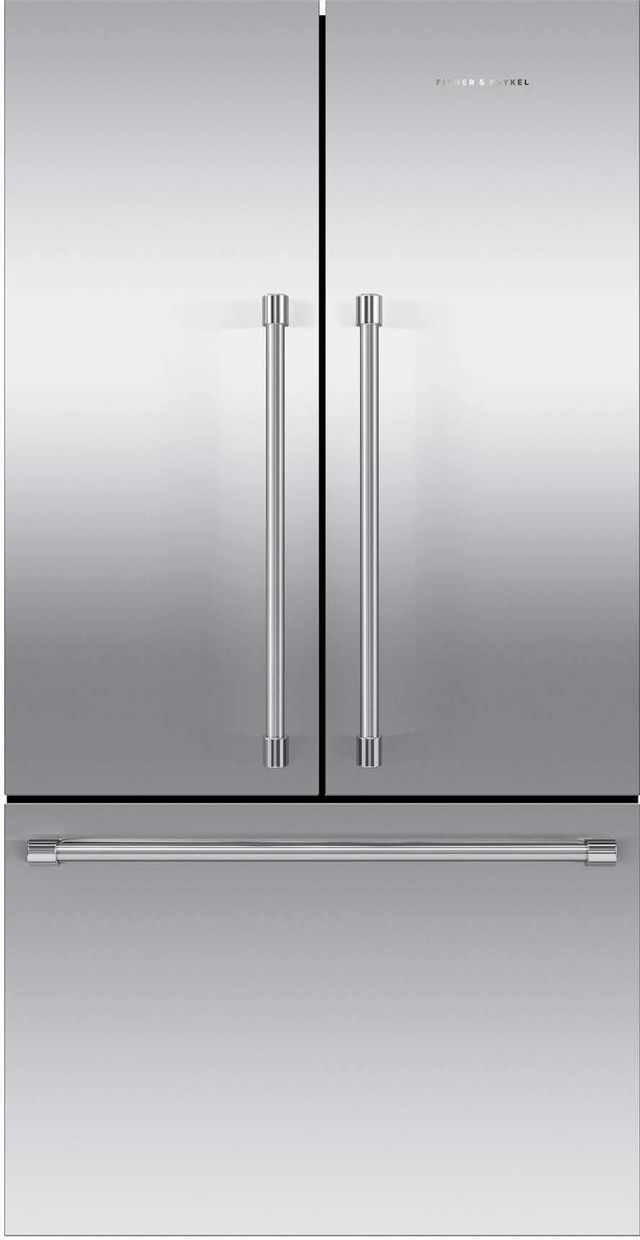 Fisher & Paykel Series 7 20.1 Cu. Ft. Stainless Steel French Door Refrigerator-RF201ACJSX1 N