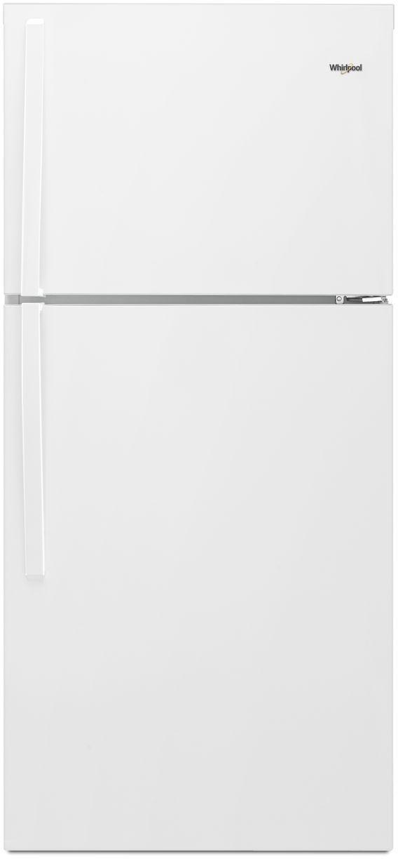 Whirlpool® 19.2 Cu. Ft. Top Freezer Refrigerator-White-WRT519SZDW