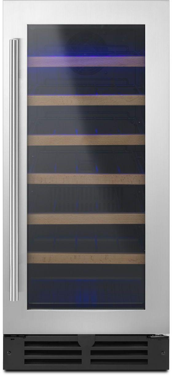 Refroidisseur à vin de 34 bouteilles de 15 po Whirlpool® - Noir-WUW35X15DS