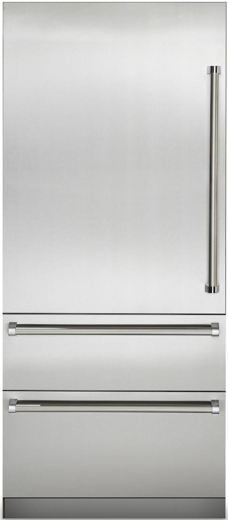 Viking® Professional 7 Series 20 Cu. Ft. Fully Integrated Bottom Freezer Refrigerator-Stainless Steel-VBI7360WLSS